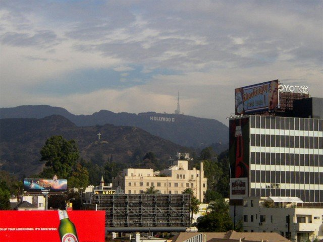 Hollywood Sign��ʂ̊ϖ]