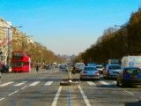 Champs-Elysees street