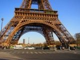 Eiffel Tower and road