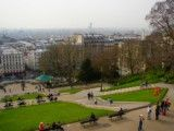 Scenery from hill in Montmartre