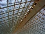 Geometrical ceiling in airport