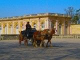 Grand Trianon and wagon