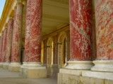 Big pillar of rose marble