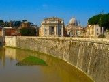 Tevere river and Vatican