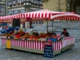 Fruits shop in Rothenburg