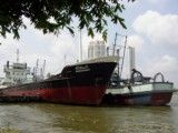 Big ship of Chao Phraya river