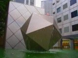 Fountain of polyhedron