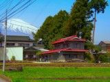 Private house and Mt Fuji