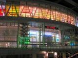 Zoom up of Saitama super-arena