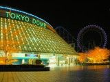 Tokyo Dome and Ferris wheel