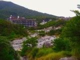 View of hot spring ground
