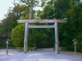 Torii of Ise Jingu Shrine