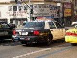 Patrol car of Los Angeles