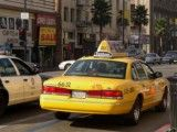 Taxi that Los Angeles is yellow