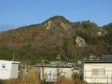 Mountain of massage seen from temple in a mountain station