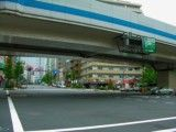 Intersection in the above Osaki