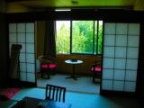 Spectacle of Japanese-style room