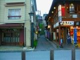 Alley on hot spring street