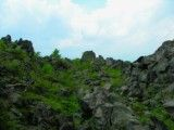 Scenery in rock zone